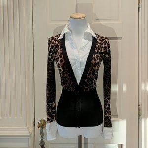 Inc leopard top